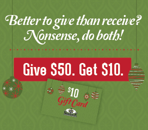 2013 Brookside Holiday Gift Card