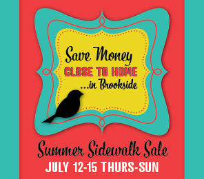 Brookside Summer Sale