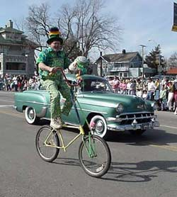 St. Patrick's Warm-Up Parade