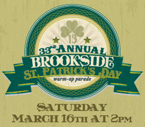 2013 Brookside 33rd Annual St. Patrick's Warm-Up Parade