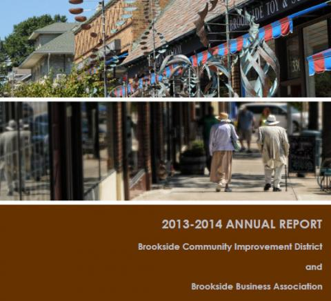 Brookside Community Improvement District Annual Report 2013