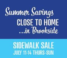 Summer Sidewalk Sale 2013