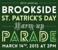 2015 Brookside St Patrick's Warm-up Parade
