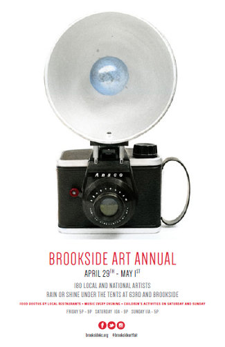 2016 Brookside Art Annual Poster