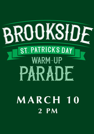 Brookside St. Patricks Warm-up Parade