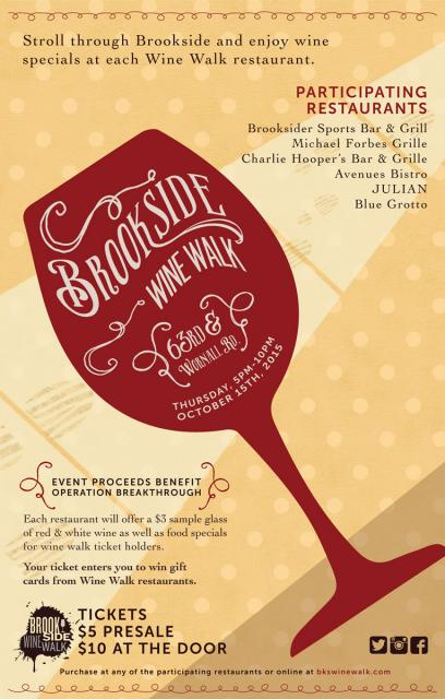 Brookside Wine Walk