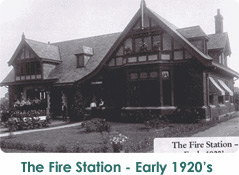 The Fire Station, early 1920's