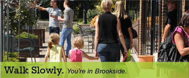 Walk Slowly in Brookside