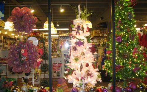 The New Dime Store Brookside Holiday Window 2012