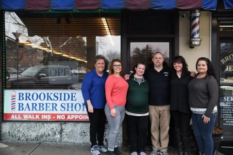 Suzanne Noland & the Brookside Barber Shop