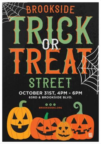 2018 Brookside Trick-or-Treat Street
