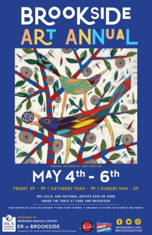 33rd annual Brookside Art Annual