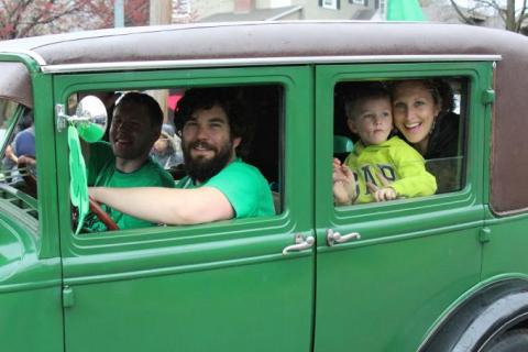 Brookside St. Patrick's Day Warm Up Parade