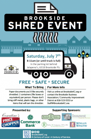 Brookside Shred Event information